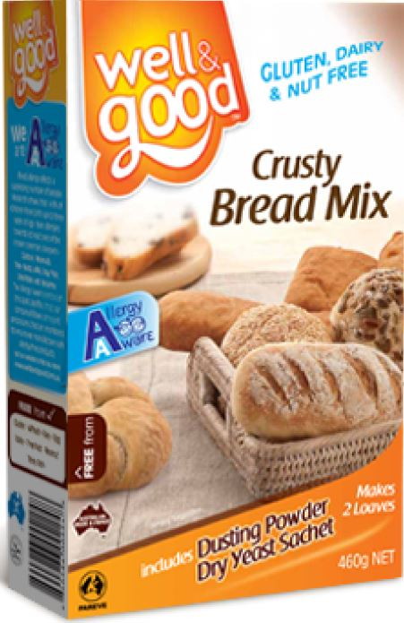 GLUTEN FREE CRUSTY BREAD MIX